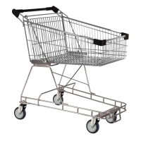 100 Litre Black Supermarket Shopping Trolley Cart - T100-ZSSSS30330.jpg