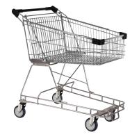100 Litre Black Supermarket Shopping Trolley Cart - T100-ZSSSS30330.jpg