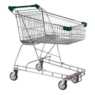 100 Litre Dark Green Supermarket Shopping Trolley Cart - T100-ZSSSS50550.jpg