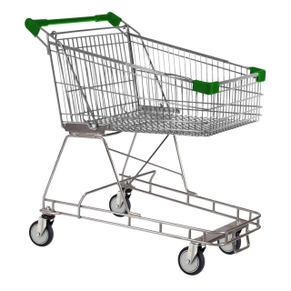 100 Litre Green Supermarket Shopping Trolley Cart - T100-ZSSSS40440.jpg