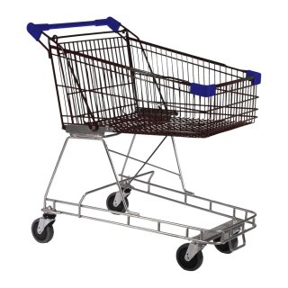 100 Litre Nylon - Supermarket Shopping Trolley Blue - T070-NSSSS20220.jpg