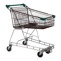 100 Litre Nylon - Supermarket Shopping Trolley D-Green - T070-NSSSS50550.jpg