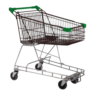100 Litre Nylon - Supermarket Shopping Trolley Green - T070-NSSSS40440.jpg