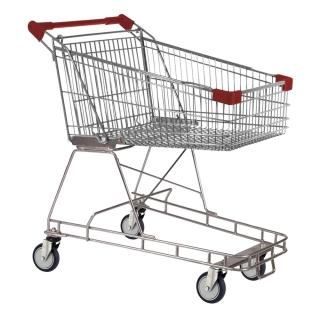 100 Litre Red Supermarket Shopping Trolley Cart - T100-ZSSSS10110.jpg