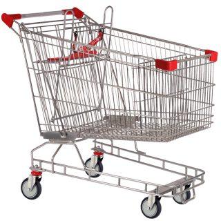 212 Litre Red Shopping Trolley Cart - T212-ZSSSS11111.jpg
