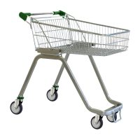 70 Litre Supermarket Shopping Trolley Cart - T070-ZSSSS40440.jpg