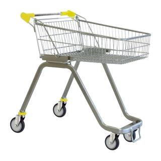 70 Litre Supermarket Shopping Trolley Cart - T070-ZSSSS60660.jpg