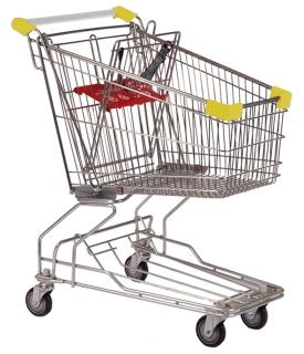 90 Litre Yellow Shopping Trolleys Carts - T090-ZSSSS61601.jpg