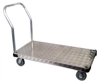 Aluminium Single Deck Flat Deck Trolley - FQ-900A.jpg