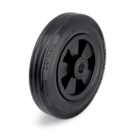 black castor wheels