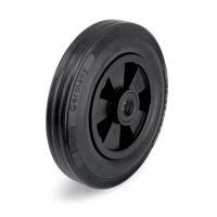 black castor wheels