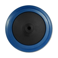 Blue Rubber Wheel 100X32 - BP10032B.jpg