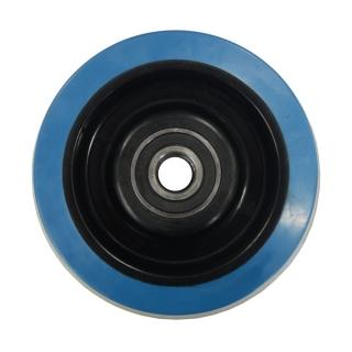 Blue Rubber Wheel 125X36 - BP12536B(F).jpg