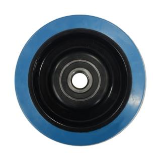 Blue Rubber Wheel 125X40 - BP12540B.jpg