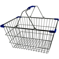 Chrome Plated Wire Shopping Basket - BSK-031L-BLU.jpg