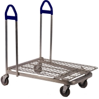Flat Deck Warehouse Trolley - .JPG