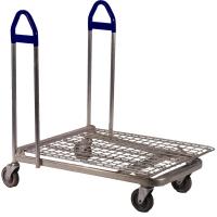 Flat Deck Warehouse Trolley - .JPG