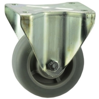 Heavy Duty Rigid Caster With Elastomer Wheel - SZR12550-TPB.jpg