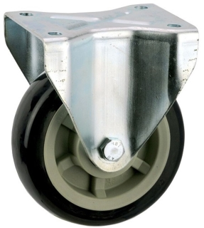 Heavy Duty Rigid Castor With Polyurethane Wheel - SZR15050-UPB.jpg