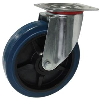 Heavy Duty Swiveling Caster With Blue Rubber Wheel - SZS20050-BPB.jpg