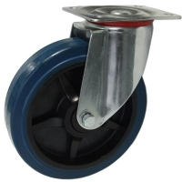 Heavy Duty Swiveling Caster With Blue Rubber Wheel - SZS20050-BPB.jpg