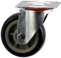 Heavy Duty Swiveling Caster With Polyurethane Wheel - SZS15050-UPB.jpg