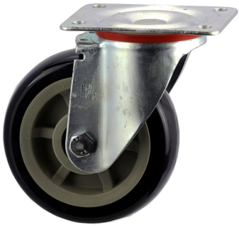 Heavy Duty Swiveling Caster With Polyurethane Wheel - SZS15050-UPB.jpg