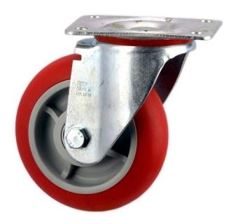 Heavy Duty Swiveling Castor With Polyurethane Wheel - SZS15050-UPRB.jpg