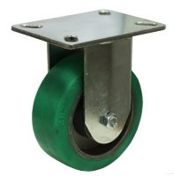 High Temperature Rubber Wheel Rigid Plate Mounted Castor MZR10040-HAB.JPG