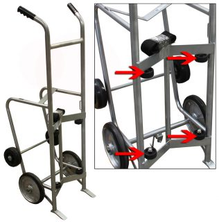 Large Single Drum Hand Truck - HQ-450DRUM.JPG