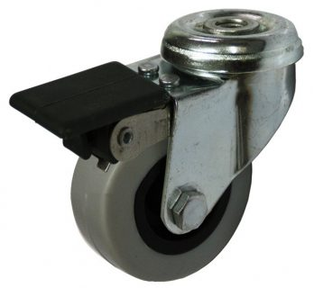 Light Duty Bolt Hole Mount Castor - LZHW05020-TPP(F).JPG