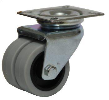 Light Duty Plate Mount Castor - LZS05020-2TPP.JPG