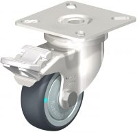 Light Duty Stainless Plate Mount Castor - LPXA-TPA50KD-FI-FK.jpeg