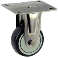 Medium Duty Stainless Steel Rigid Plate Mount Castor - MSR07532-UPB.jpg