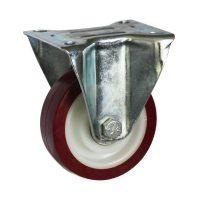 Medium Duty Steel Castor (RIGID PLATE, PU Wheel) -DZR10036-UNB.jpg