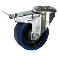 Medium Duty Steel Castor (SWL Bolt Hole+BRAKE, BP Wheel) -DZHT10036-BPB.jpg