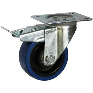 Medium Duty Steel Castor (SWL plate, PU Wheel) - DZST10036-BPB.jpg