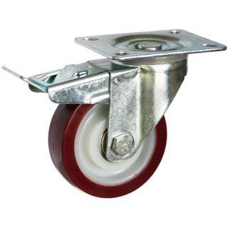 Medium Duty Steel Castor (SWL plate, PU Wheel) - DZST10036-UNB.jpg