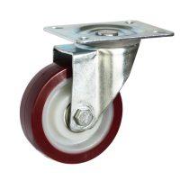 Medium Duty Steel Castor (swl PLATE, PU Wheel) -DZS10036-UNB.jpg