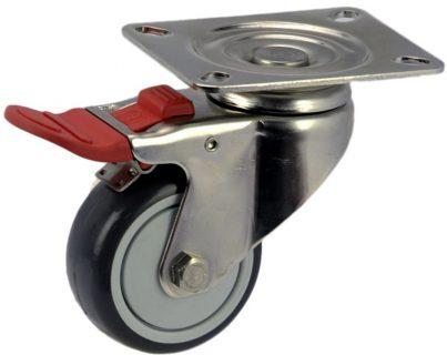 Medium Duty Swivel Plate Mount Caster With Brake - MSST07532-UPB.jpg