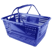 Plastic Shopping Basket - BSK-PSH-BLUE.JPG