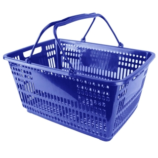 Plastic Shopping Basket - BSK-PSH-BLUE.JPG