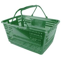 Plastic Shopping Basket - BSK-PSH-GREEN.JPG
