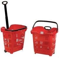 Plastic Wheel a Shopping Basket - BSK-C001.jpg