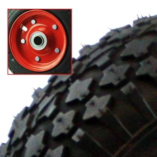 Pneumatic Wheel Steel Rim Two Piece STUD Tread - PS2STUD350X4F20.jpg