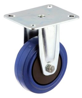 RIGID PLATE MOUNT CASTOR WITH RESILIENT BLUE RUBBER WHEEL - MZR10032-BPB.jpg