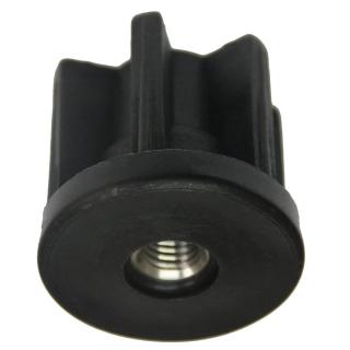ROUND ZINC PLATED NYLON KNOCK IN TUBE INSERT - TTIR51-M12S.JPG