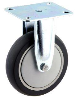 Rigid Plate Mount Caster Polyurethane Wheel - MZR12532-UPB.jpg