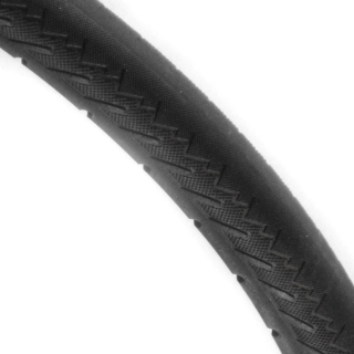 Solid PU Foam Tyre - P154 Black Tread.jpg