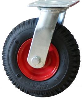 Swivel Plate Mount P Series Foam Filled Castor with 250mm Rim - PZN250X4-FS.jpg
